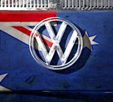 AUSSIE flag - VW Sticker