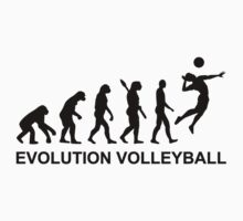 Evolution Volleyball by Designzz