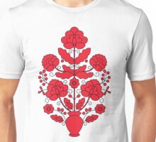 Tree of Life - red and black Unisex T-Shirt