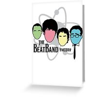 The BeatBand Theory Greeting Card