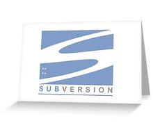 apache subversion Greeting Card