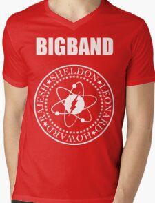 The Big Band Mens V-Neck T-Shirt