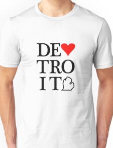 Detroit Love Unisex T-Shirt