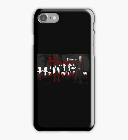HAPPY HALLOWEEN - SPIKE iPhone Case/Skin