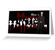 HAPPY HALLOWEEN - SPIKE Greeting Card