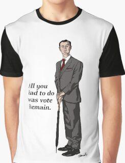 Mycroft Remain Graphic T-Shirt