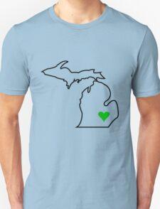 Michigan Love - Green  Unisex T-Shirt
