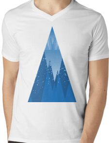 Cold In The Forest Mens V-Neck T-Shirt