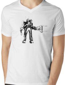 Ripley Power Loader B&W Mens V-Neck T-Shirt