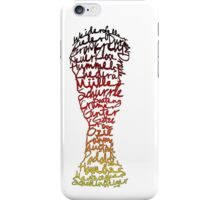 German World Cup Squad 2014 iPhone Case/Skin