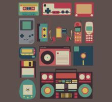 Retro Technology Kids Clothes