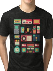 Retro Technology Tri-blend T-Shirt