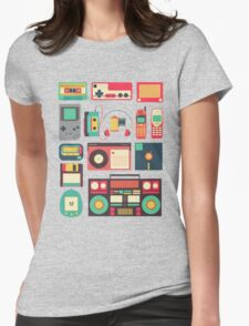 Retro Technology Womens Fitted T-Shirt