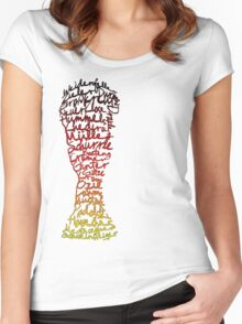 German World Cup Squad 2014 Women's Fitted Scoop T-Shirt