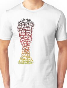 German World Cup Squad 2014 Unisex T-Shirt