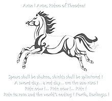 Ride Rohirrim ! Photographic Print