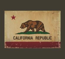 California State Flag VINTAGE by USAswagg