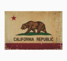 California State Flag VINTAGE Kids Clothes