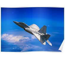 High velocity Raptor Poster
