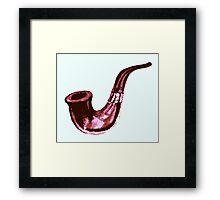 Sherlock's Pipe Framed Print