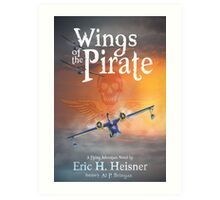 Wings of the Pirate Cover Art Art Print