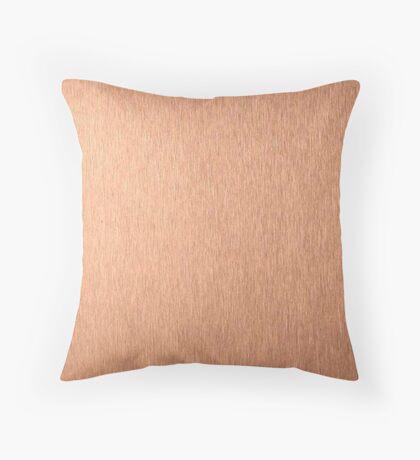Copper Lighter Throw Pillow