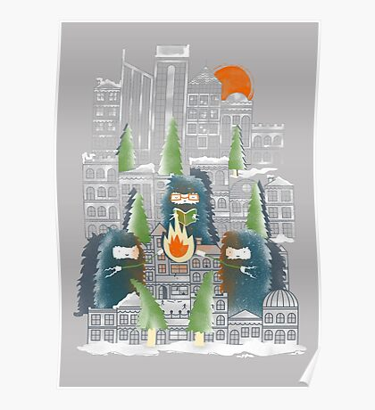 Camping in the City Poster