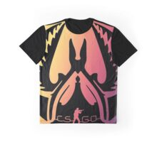 CS:GO Design: Counter Terrorist Fade Graphic T-Shirt