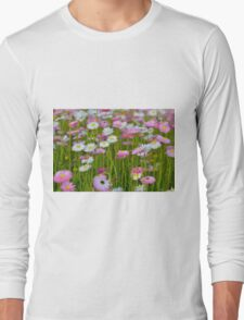 Flower pattern photograph Long Sleeve T-Shirt