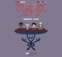 16-bit Stranger Things Kids Tee