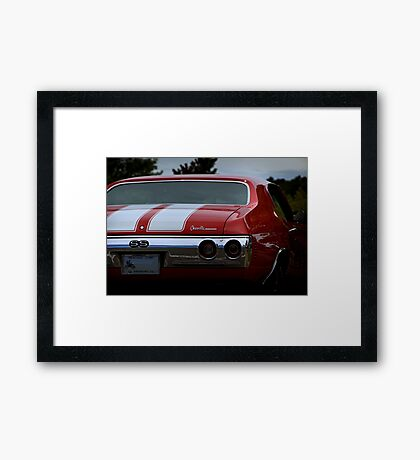 1971 Chevy Chevelle SS Framed Print