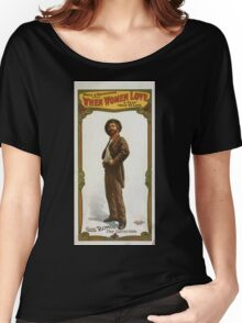 Performing Arts Posters Spitz Nathanson present When women love a play true to life 0142 Women's Relaxed Fit T-Shirt
