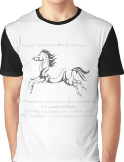 A l'attaque Rohirrim ! Graphic T-Shirt