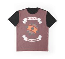 Degroot Demolition 2 (RED) Graphic T-Shirt