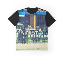 Summer Patio Graphic T-Shirt