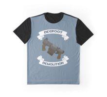 Degroot Demolition (BLU) Graphic T-Shirt