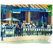 Summer Patio Poster