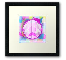 Abstract,colorful,geometry,geometric,contemporary art,modern Framed Print