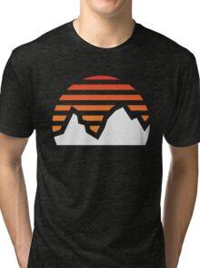 Mountain Sunset Tri-blend T-Shirt