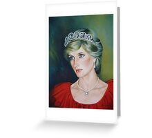 Princess Diana Greeting Card