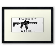Pew and Chill  Framed Print