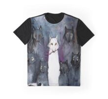 Alpha Wolf Graphic T-Shirt