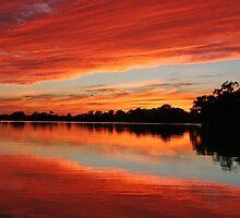 September Sunset by Eileen McVey