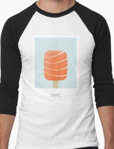 Sake Flavored Creamsicle Men's Baseball ¾ T-Shirt