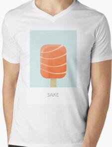 Sake Flavored Creamsicle Mens V-Neck T-Shirt