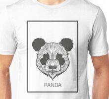 Sketchy Panda Bear Unisex T-Shirt