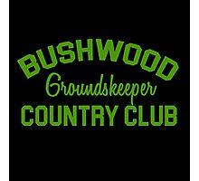 Bushwood Groundskeeper - Caddyshack  Photographic Print