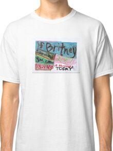 Britney - 2007 Classic T-Shirt