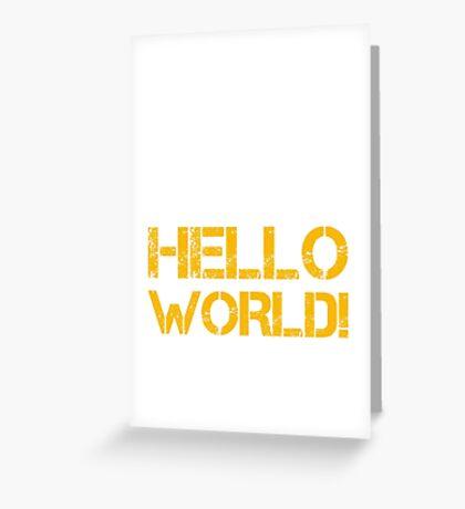 Programmer Greeting Card
