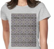 Stargazer Lily in Pastel pattern Womens Fitted T-Shirt